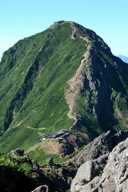 20110812-3横岳付近から赤岳