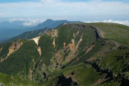 20110812-5三叉峰後硫黄岳の丘