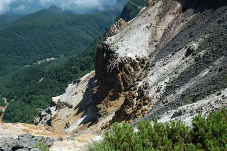 20110812-8硫黄岳爆裂火口2