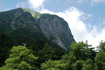 20110816-4 横尾~本谷橋、屏風岩1