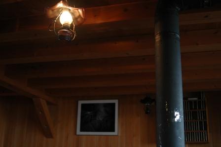 20110817-5 穂高岳山荘談話室
