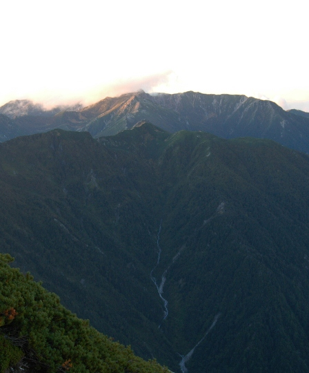 20110923_13桧尾岳と宝剣