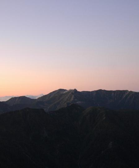 20110923_14桧尾岳と宝剣2