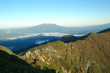 20110924_03御嶽と縦走ルート
