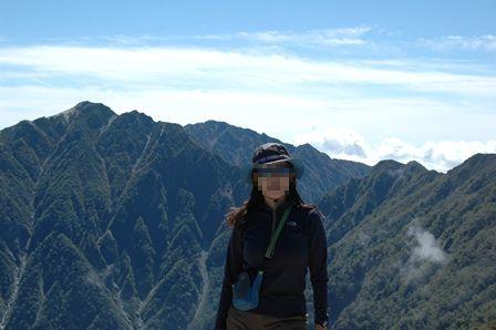 20110924_12桧尾山頂から空木と私