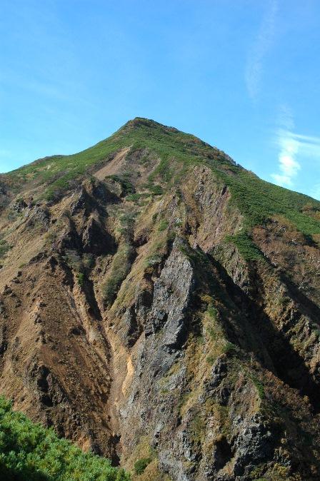 20111001-19文三郎から見た横岳