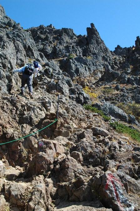 20111001-24赤岳岩稜1