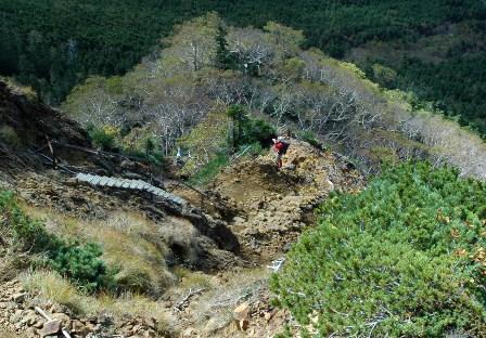 20111001-33地蔵尾根下り階段