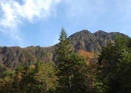 20111001-37行者から見た赤岳