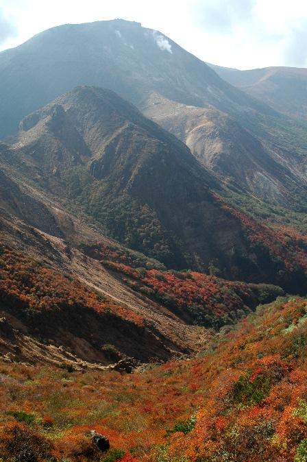20111009-19茶臼岳とカラフル絨毯
