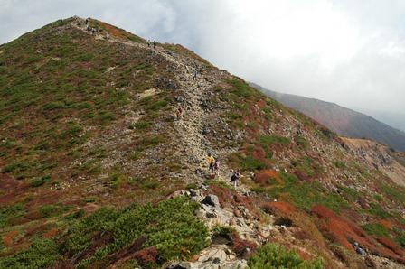 20111009-20湿原手前稜線1