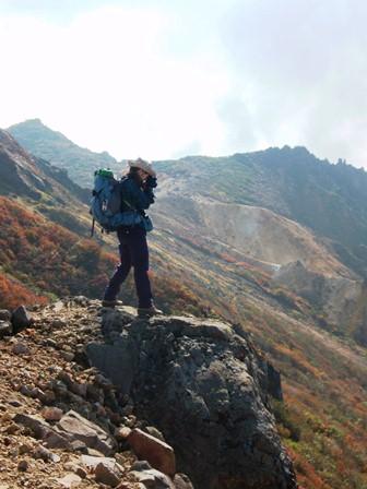 20111009-19茶臼岳とカラフル絨毯2