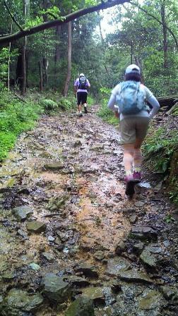 20110722弥勒山北コース