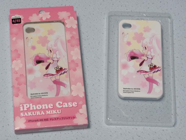 桜ミク iPhoneカバー