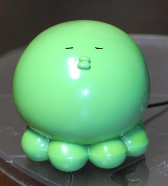 緑色の丸い奴!