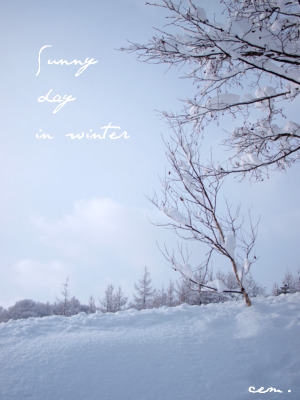 invierno de mi pueblo