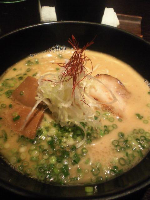 生姜鶏白湯