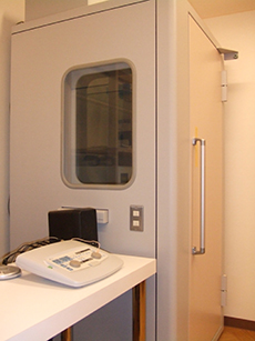 防音聴力測定室