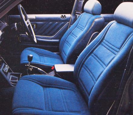 77年8月 スカイラインGT-L シート