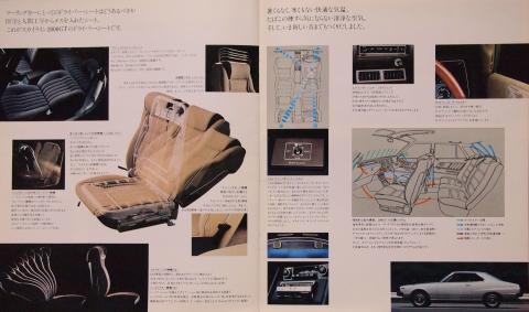 77年8月 スカイラインGT 室内装備