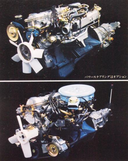 77年8月 スカイラインGT エンジン