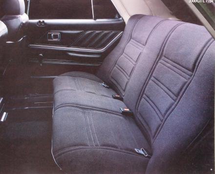 78年8月 スカイラインGT-L シート
