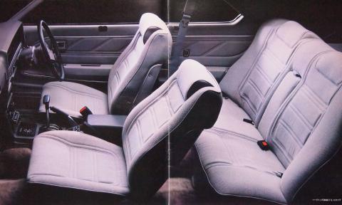79年9月 スカイラインGT-E・X 内装