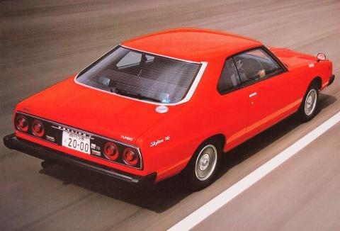 80年12月 スカイラインターボGT-E・S