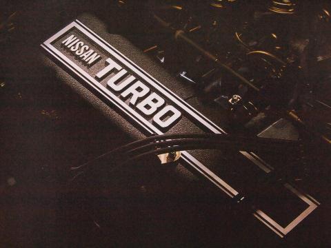 80年12月 スカイラインGTターボ エンジン