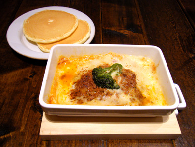 『j.s. pancake cafe(ジェイエス パンケーキカフェ)』のラザニア