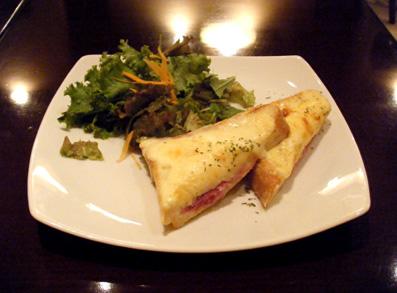 『Cafe La Mille(カフェ・ラ・ミル)』のクロックムッシュ