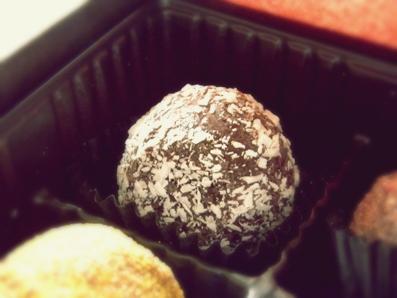 『ドゥー パティスリー・カフェ』のチョコ