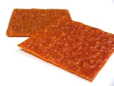 『十火(じゅっか)』のトマトのお煎餅