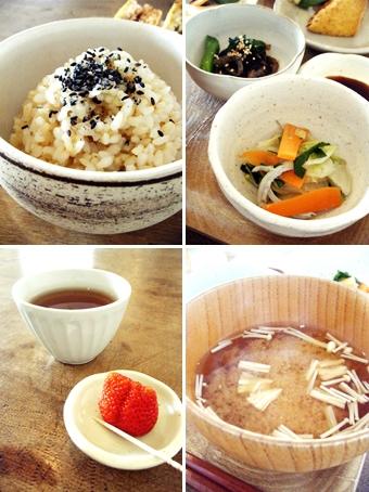 『食堂marumi-ya』の厚揚げのひき肉はさみ揚げ