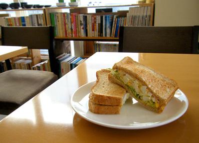 『kate coffee(ケイトコーヒー)』のサンドイッチ