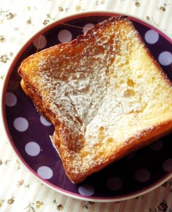 『パンとエスプレッソと』のフレンチトースト