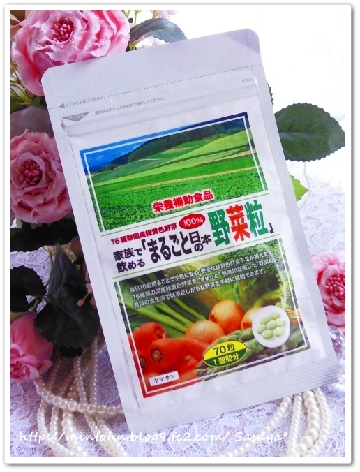 まるごと日本の野菜粒☆☆