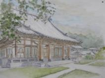西福寺のスケッチ画像