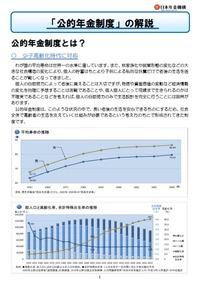 20110816公的年金制度の解説パンフレット