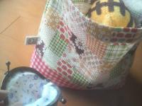 隠しマチ付き弁当袋1-3