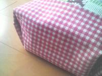 隠しマチ付き弁当袋1-2