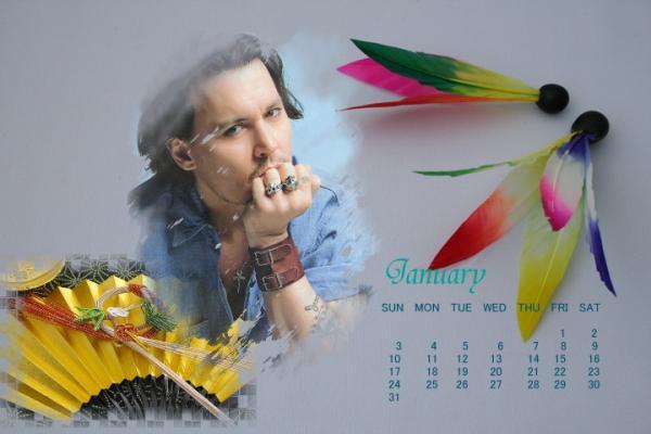 ブログ用カレンダー20101月