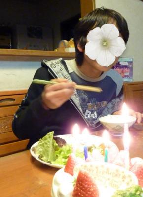 お兄ちゃん誕生日2