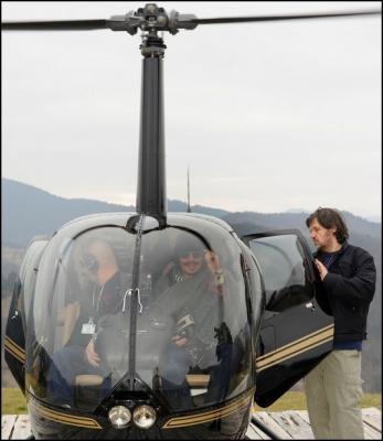 ジョニー未見ヘリコプター