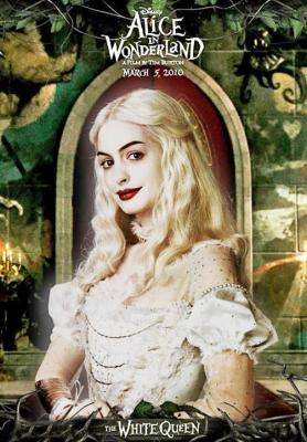 白の女王アリスポスター