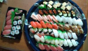 お寿司祝い