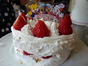 誕生日ケーキ作り4