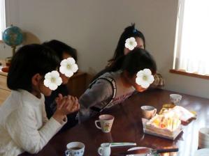 娘の誕生日会20104