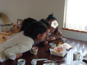 娘の誕生日会20105