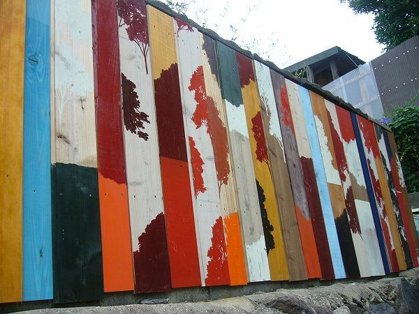 男木島壁板
